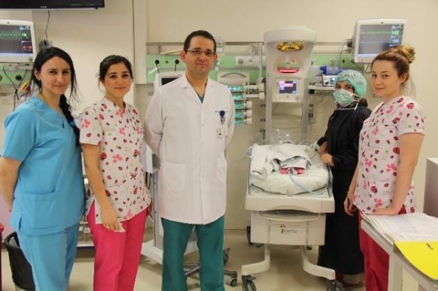 Açık Kalp Ameliyatı Olan Suriyeli Bebek Sağlığına Kavuştu