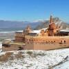 Ağrı'da tarihi İshak Paşa Sarayı nisanda gelinlik giydi