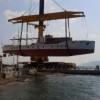 Atatürkün gezi teknesi M/G Acar Çanakkalede