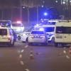 Beştepe önünde bariyerlere çarpan sürücü gözaltına alındı