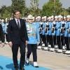 Cumhurbaşkanı Erdoğan, Vucic'i resmi törenle karşıladı