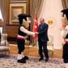 Cumhurbaşkanı Erdoğana sürpriz ziyaret
