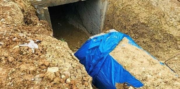 Hareket bölgesinde PKK'ya ait tüneller kullanılmaz hale getirildi