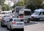 İstanbul yollarında servis aracı işgali