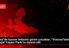 İzmir'de kanser tedavisi gören çocuklar, 'Vosvos'larla' Doğal Yaşam Parkı'nı ziyaret etti