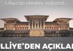 Libya ateşkesine Türkiye'den açıklama: Barış diplomasinin neticesi