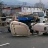 Manisa'da minibüs ile traktör çarpıştı: 14 yaralı
