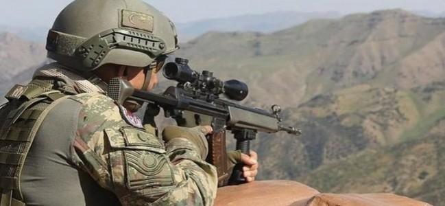 MSB duyurdu: 2 terörist etkisiz hale getirildi
