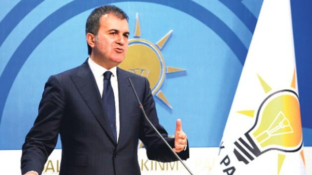 """Ak Parti sözcüsü Ömer Çelik """" TBMM bu ülkenin onurudur """""""