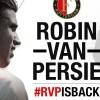 Robin van Persie resmen Feyenoord'da