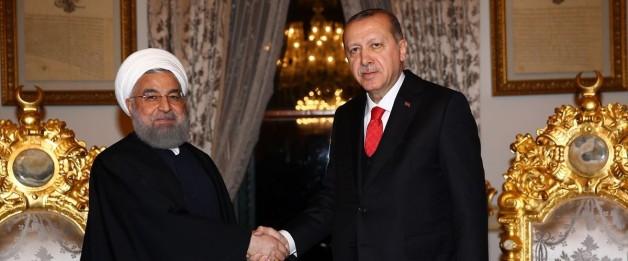 Son dakika haberi… Cumhurbaşkanı Erdoğan-Ruhani görüşmesi
