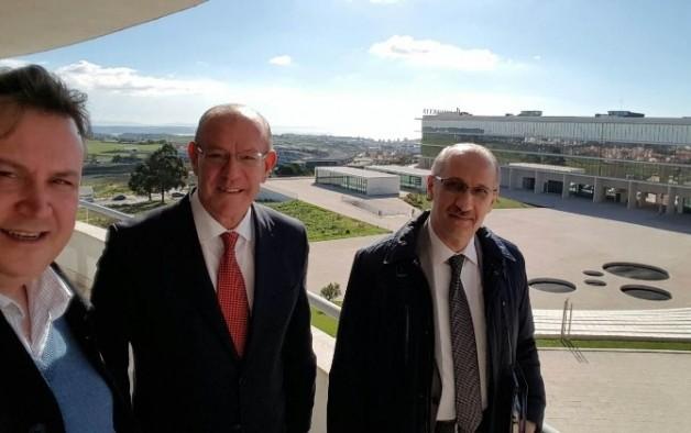 Ulutek Yönetimi, Avrupa'daki Teknoparkları İnceledi