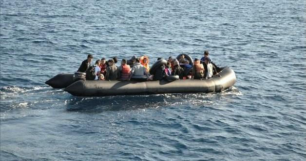 Edirne'de 35 düzensiz göçmen yakalandı