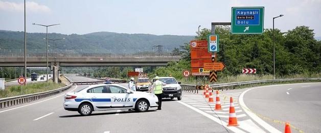 Kaynaşlı-Bolu Tüneli arasında çalışma (20 gün boyunca ulaşıma kapalı)